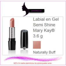 Labial en Gel Semi Shine Naturally Buff