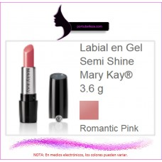 Labial en Gel Semi Shine Romantic Pink