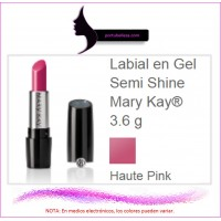 Labial en Gel Semi Shine Haute Pink