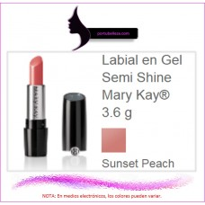 Labial en Gel Semi Shine Sunset Peach