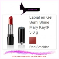 Labial en Gel Semi Shine Red Smolder