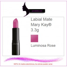 Labial Mate Luminosa Rose