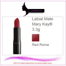 Labial Mate Red Roma
