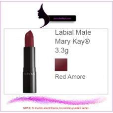 Labial Mate Red Amore