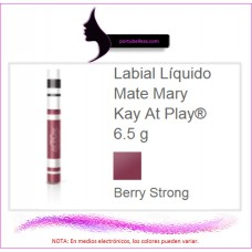 Labial Líquido Mate At Play® Berry Strong