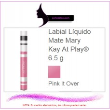 Labial Líquido Mate At Play® Pink It Over