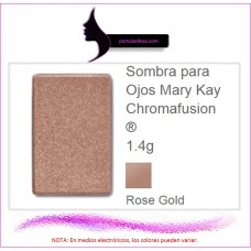 Sombra para Ojos Chromafusion®  Rose Gold (Destellos)
