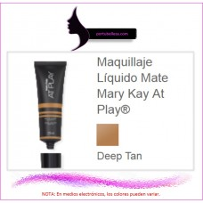 Maquillaje Líquido Mate At Play® (Deep Tan)