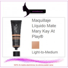 Maquillaje Líquido Mate At Play® (Light-to-Medium)