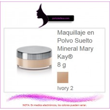 Maquillaje en Polvo Suelto Mineral Ivory 2 (Natural)
