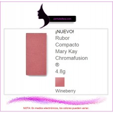 Rubor Compacto Chromafusion® Wineberry (Destellos)