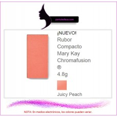 Rubor Compacto Chromafusion® Juicy Peach (Destellos)
