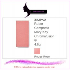 Rubor Compacto Chromafusion® Rouge Rose (Destellos)