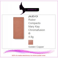 Rubor Compacto Chromafusion® Golden Copper (Destellos)